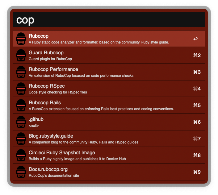 Rubocop Projects